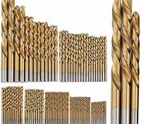 99pc Titanium Coated HSS Drill Set (1.5-10mm) 1