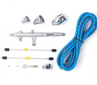 Pro Series Gravity Feed Airbrush Kit met Double Action Trigger