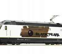 "Roco/Fleischmann HO Electric Locomotive 465 016 ""Black Pearl"" BLS (DCC Ready)"