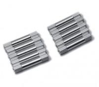 Lichtgewicht Aluminium Ronde Sectie Spacer M3x29mm (zilver) (10st)