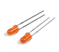 LED 3mm Oranje
