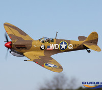 Durafly ™ Spitfire mk5 1100mm (PNF) Regeling Desert