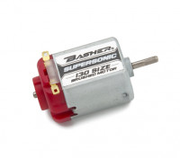 Basher Supersonic 130 Maat Brushed Motor (Rood)