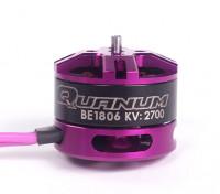 Quanum BE1806-2700kv Race Edition borstelloze motor 3 ~ 4S (CCW)