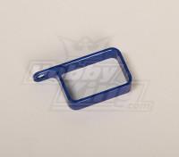 Metalen houder (blauw)