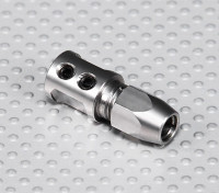 Steel Shaft Adapter - 5mm Motor As tot 5mm Flexi Shaft