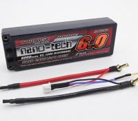Turnigy nano-tech 6000mAh 2S2P 65 130C Pack Lipo ~ Hardcase