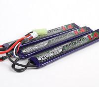 Turnigy nano-tech 1400mAh 3S 15 ~ 25C Lipo AIRSOFT Pack
