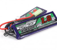 Turnigy nano-tech 1800mAh 2S 25 ~ 50C Lipo AIRSOFT Pack