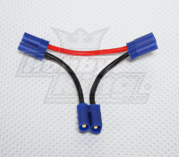 EC5 batterij Harness 12AWG voor 2 Packs in Series