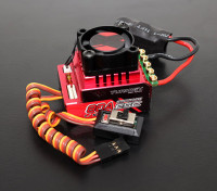 Turnigy Trackstar 80A Turbo Sensored Brushless 1 / 12e 1 / 10de ESC (ROAR goedgekeurd)