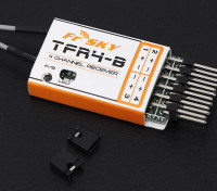 FrSky TFR4B 2.4Ghz 4CH Surface / Air ontvanger FASST Compatible