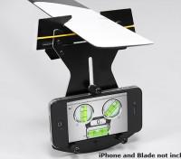 Flybarless Helicopter Pitch Gauge voor gebruik w / Smartphone