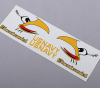 US Navy Tail zelfklevende Decal - Bicentennial (pak 70mm / 90mm EDF)