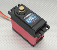 Turnigy ™ TGY-1270HV kogellager DS / MG Servo w / Heat Sink 40kg / 0.18sec / 170g