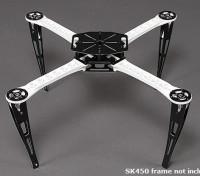 Uitgebreide Landing Skid Set voor sk450 Quadcopter Frame