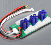 Hobbyking Parallel Charge Board Voor 6 Packs 2 ~ 6S (EC5)