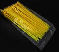 Elektrische Zip / Cable Ties Nylon 4 mm x 150 mm - 100 / zak (Geel)