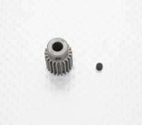 """""""Hard One"""" 0,7M Geharde Helicopter Pinion Gear 6mm Shaft - 21T"""