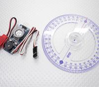 Gas Engine CDI Ontsteking Test en Timing Setup Tool - Inclusief krukas Degree Wheel