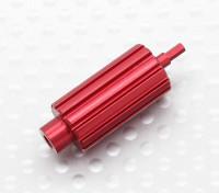 Aluminium Upgrade Scroll Wheel Roller voor Spektrum DX Series Zenders (Rood)