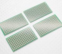 DIY PCB Bread Board 42x25mm (4 stuks / zak)