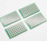DIY PCB Bread Board 27.5x17mm (4 stuks / zak)