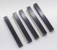 3x30P Pin Socket - 2.54mm Pitch (5pcs / bag)