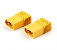 XT60 Male naar T-Connector Adapter Plug (2 stuks)