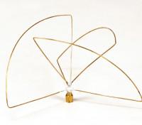 Circulair gepolariseerde 900MHz-zender Antenne (SMA) (LHCP) (Short)