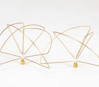 900Mhz circulair gepolariseerde antenne Set (SMA) (LHCP) (Short)