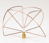 Circulair gepolariseerde 1.2GHz Receiver Antenne (SMA) (LHCP) (Short)