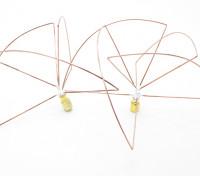 1.2 GHz circulair gepolariseerde antenne SMA (Set) (Short)
