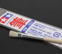 Tamiya Standaard Flat Brush (punt 87.015)
