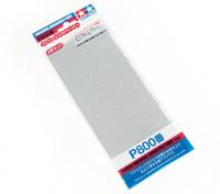 Tamiya Afwerking Wet / Dry Schuurpapier P800 Grade (3pc)