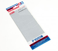 Tamiya Afwerking Wet / Dry Schuurpapier P1000 Grade (3pc)
