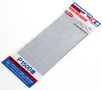 Tamiya Afwerking Wet / Dry Schuurpapier P1500 Grade (3pc)