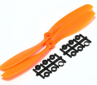 Turnigy Slowfly Propeller 8x4.5 Orange (CCW) (2 stuks)