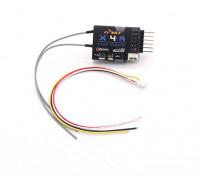 FrSky X4RSB 3 / 16ch 2.4Ghz ACCST Receiver (w / telemetrie)