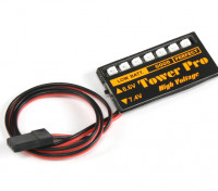 LED Rx Voltage Batterij Checker 6.6 ~ 7.4V LiPoly / Life