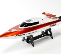 FT009 High Speed ​​V-Hull Racing Boot 460mm - Orange (RTR)