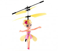 Co-Axial Flying Fairy w / Hoogte Sensor (Geel)