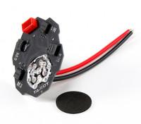 Tarot Vier Axis Signal / Vermogen intergated Distribution Board
