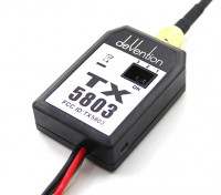 Walkera 5.8GHz TX5803 200mW FPV Video Transmitter