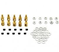Brass Koppeling Stopper Voor 1mm stuurstangen (10st)