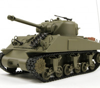 US-M4A3 Sherman Medium RC Tank RTR w / Tx (EU Warehouse)