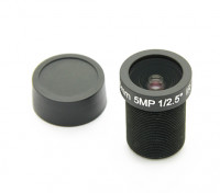 "3.6mm IR / 5MP Board Lens F2.0 1 / 2.5 ""130 °"