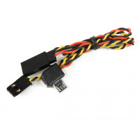 Turnigy Action Cam A / V-kabel en het netsnoer voorsprong van FPV
