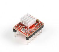 A4988 Stepper Motor Driver Module voor 3D-printer Met Heat Sink