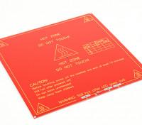 3D-printer Hot Plate MK2 Dual Power RepRap Mendel en RAMPS Compatible